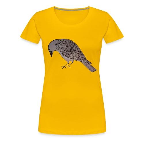 art deco raven - Women's Premium T-Shirt