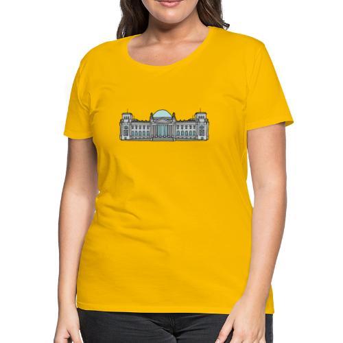 Reichstag building Berlin - Women's Premium T-Shirt