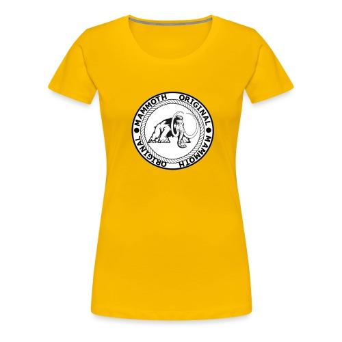 Mammoth Original Standard Logo - Women's Premium T-Shirt