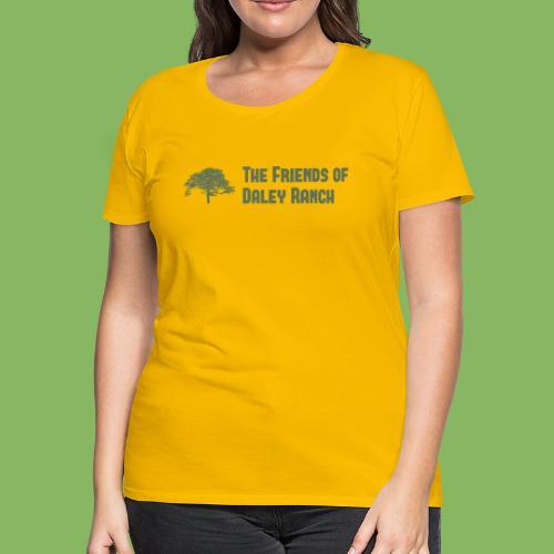 FODR Logo green - Women's Premium T-Shirt