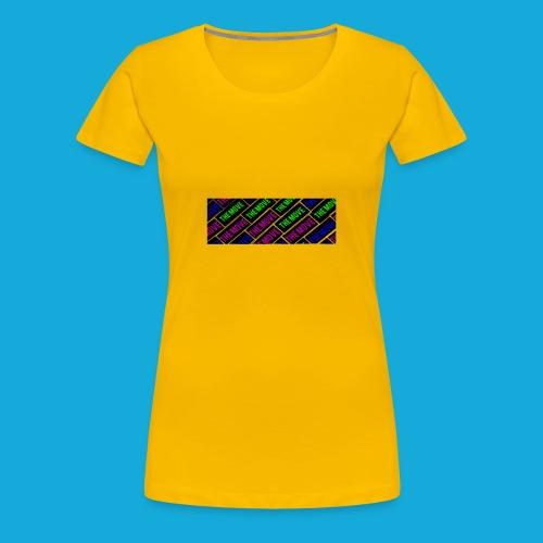 The Move logo box silhouette - Women's Premium T-Shirt