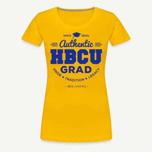 Authentic HBCU Grad - Women's Premium T-Shirt