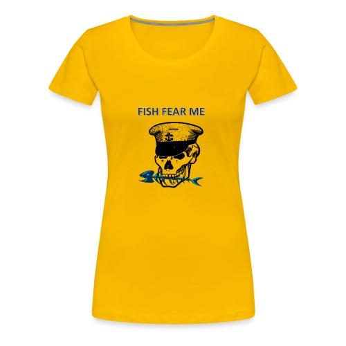 fishfearme1 - Women's Premium T-Shirt