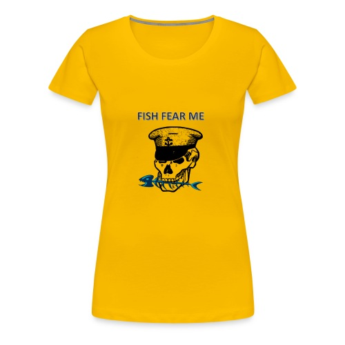 fishfearme1 - Women's Premium T-Shirt
