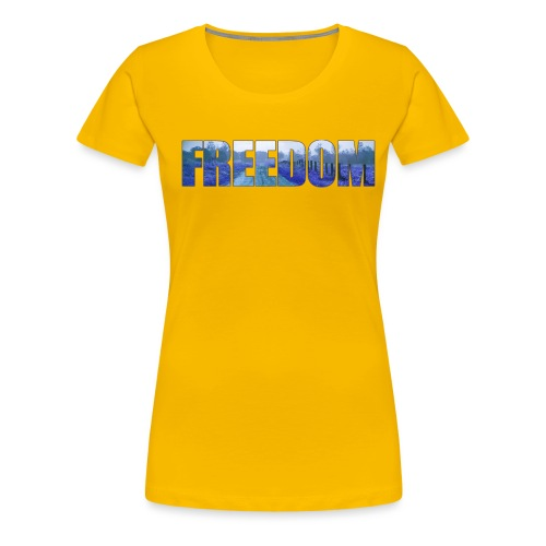 Freedom Photography Style - Women's Premium T-Shirt