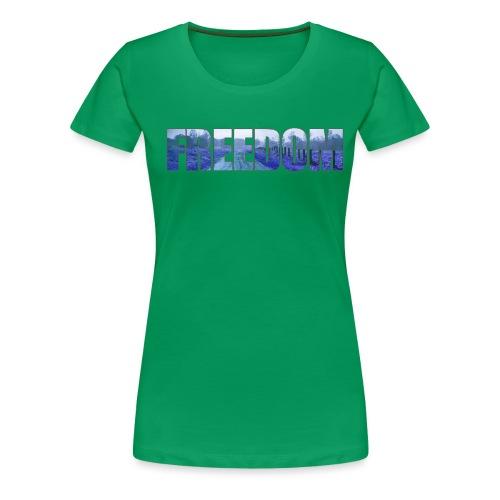 Freedom Photography Style - Women's Premium T-Shirt
