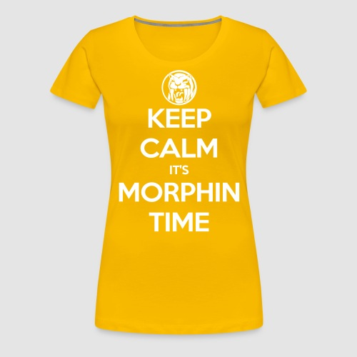 KCIMT Yellow - Women's Premium T-Shirt