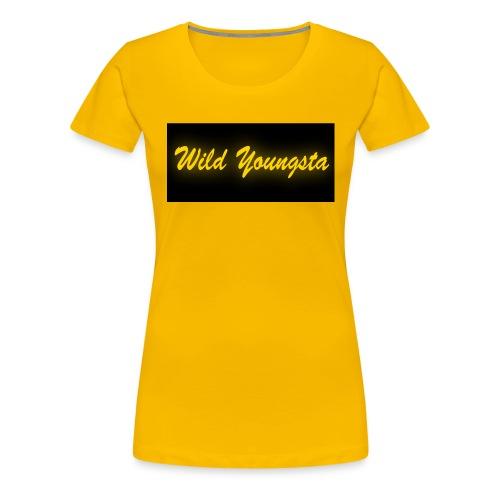 Wild Youngsta - Women's Premium T-Shirt