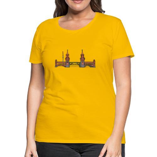 Oberbaum Bridge Berlin - Women's Premium T-Shirt