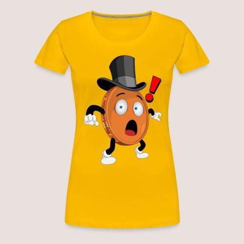 THE SURPRISED PENNY - Women's Premium T-Shirt
