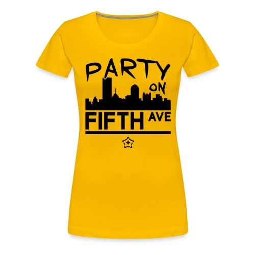 party_on_fifth2 - Women's Premium T-Shirt