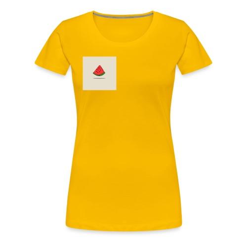 Coastal Watermelon - Women's Premium T-Shirt