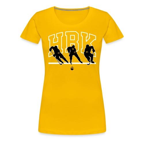gold - Women's Premium T-Shirt