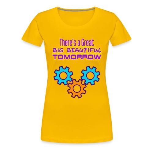 Carousel of Progress - Women's Premium T-Shirt