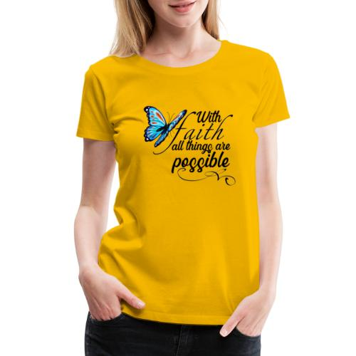 all things possible - Women's Premium T-Shirt
