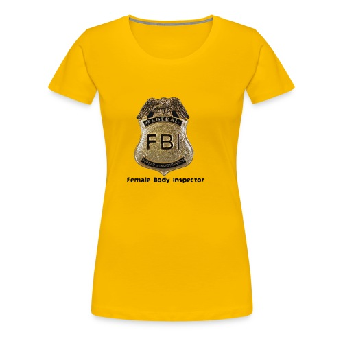 FBI Acronym - Women's Premium T-Shirt