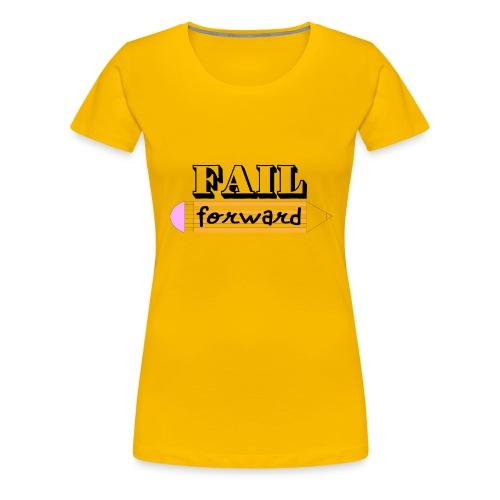 Fail Forward - Women's Premium T-Shirt