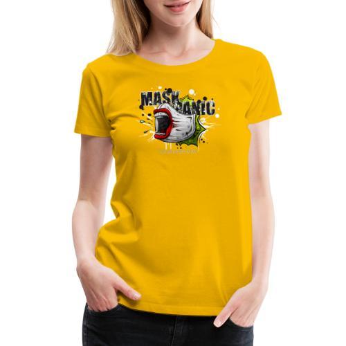 mask panic - Women's Premium T-Shirt