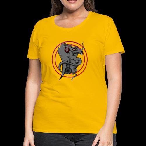 RatLouse's Crown's Bagage - Women's Premium T-Shirt