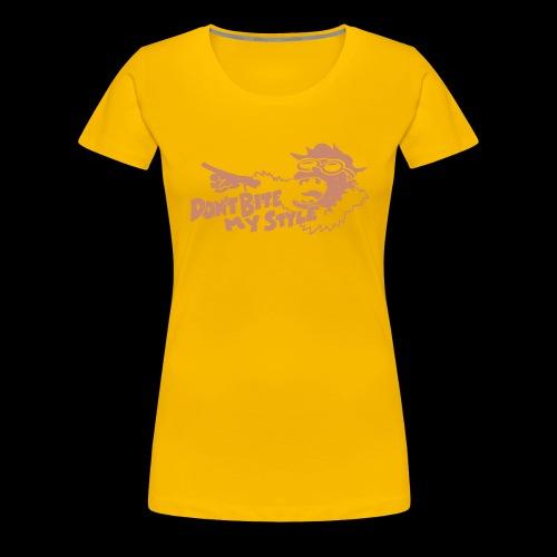 Don't Bite My Style - 1 color - Women's Premium T-Shirt