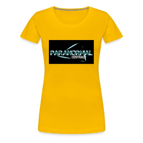 Paranormal Central On Black - Women's Premium T-Shirt