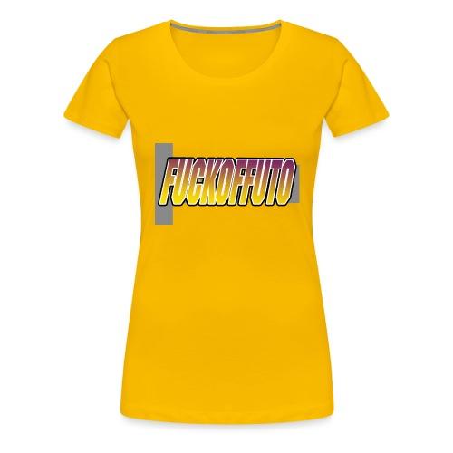 Fuckoffuto logo png - Women's Premium T-Shirt