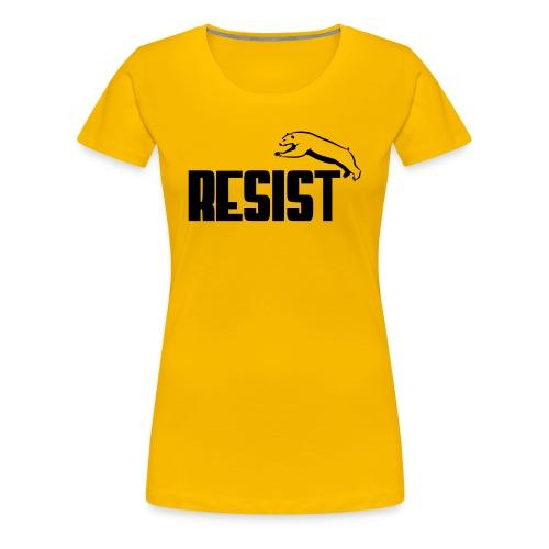 RESIST BEAR - Women's Premium T-Shirt