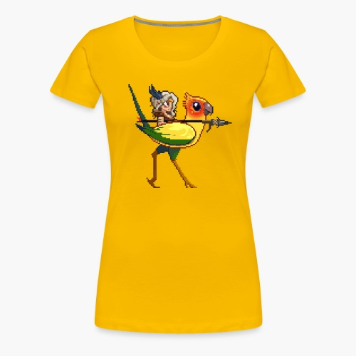 yellowBird png - Women's Premium T-Shirt
