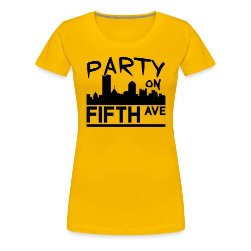 Party on Fifth Ave - Women's Premium T-Shirt