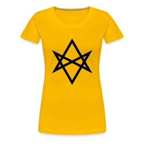 Justin James 'Hexagram' logo - Women's Premium T-Shirt
