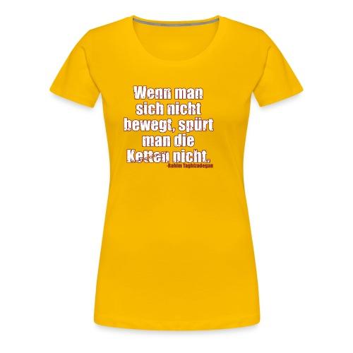 Chains Libertarian Quote Rahim Taghizadegan - Women's Premium T-Shirt