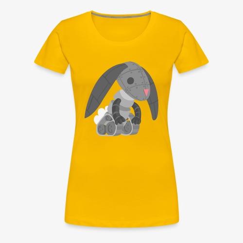 Robot Bunny - Women's Premium T-Shirt