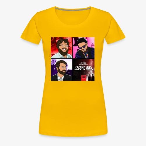 Second Take Cover - Women's Premium T-Shirt