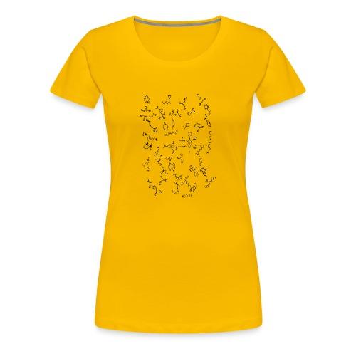 Organic chemistry design 5 - Women's Premium T-Shirt