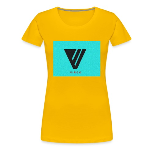 Virgo : Color - Women's Premium T-Shirt