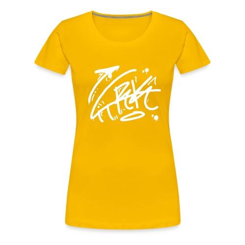 citrk white - Women's Premium T-Shirt