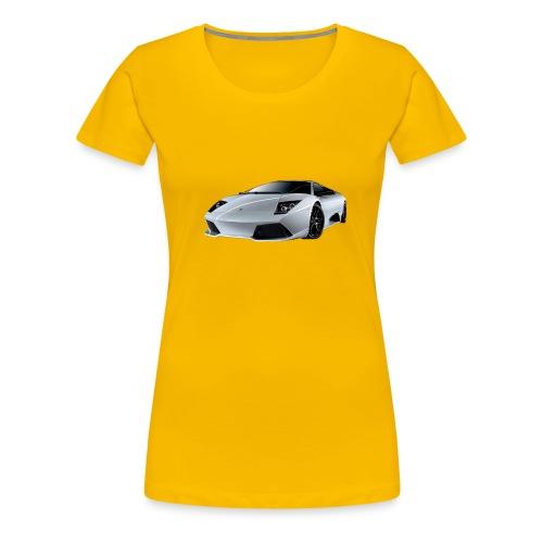 lamborghini, lambo, - Women's Premium T-Shirt