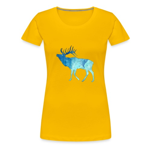 Night time deer - Women's Premium T-Shirt