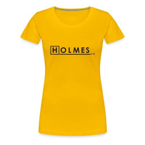 Holmes Consulting Detective Black Text - Women's Premium T-Shirt