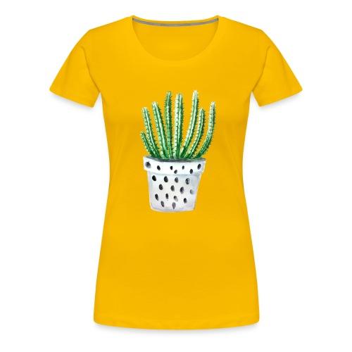 Cactus - Women's Premium T-Shirt