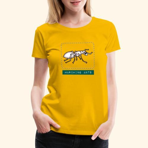 Marching Ants - Women's Premium T-Shirt
