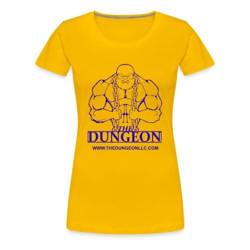 Dungeon Blue - Women's Premium T-Shirt