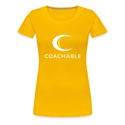 Coachable Kids - Women's Premium T-Shirt