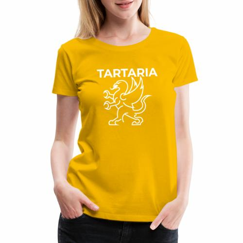 Tartaria: A Forgotten Country (With Flag) - Women's Premium T-Shirt