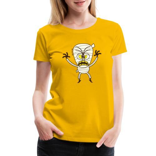 Scary Halloween Mummy - Women's Premium T-Shirt