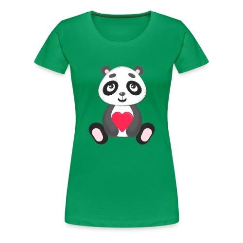 Sweetheart Panda - Women's Premium T-Shirt