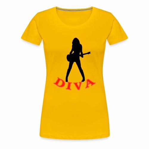 Rock Star Diva - Women's Premium T-Shirt