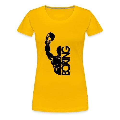 Boxer Fight Sports - Women's Premium T-Shirt