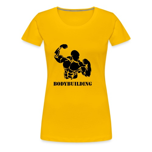 Bodybuilding - Women's Premium T-Shirt