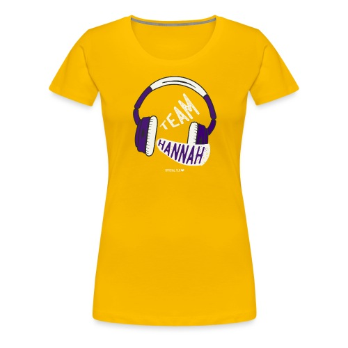 Team Hannah - Women's Premium T-Shirt